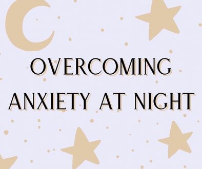Title overcoming anxiety