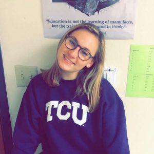 TCU sweatshirt
